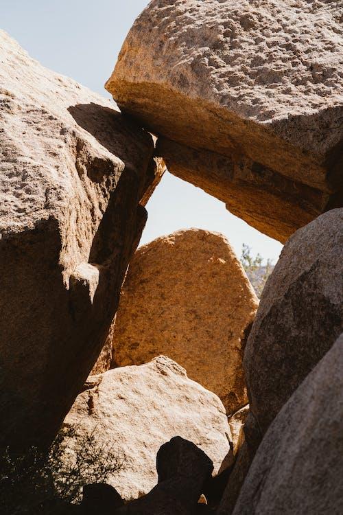 Foto stok gratis alam, alami, batu, batu besar