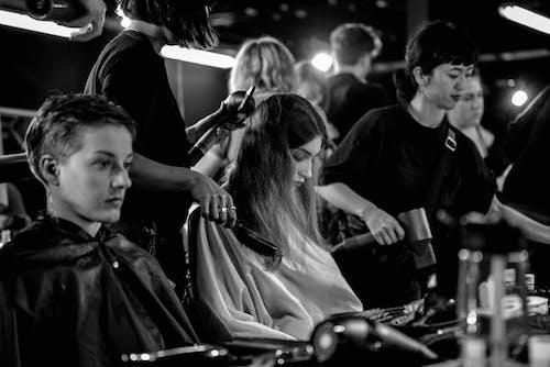 Free stock photo of b&w, fashion, hair, hairstyle