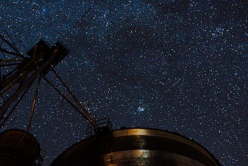 Foto profissional grátis de amplo, azul, cereais, céu noturno