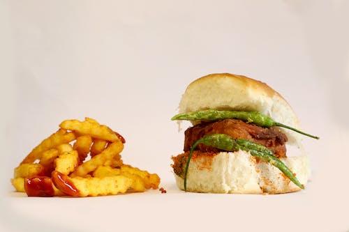 Foto d'estoc gratuïta de Fons de pantalla HD, foto d'art, hamburguesa, menjar