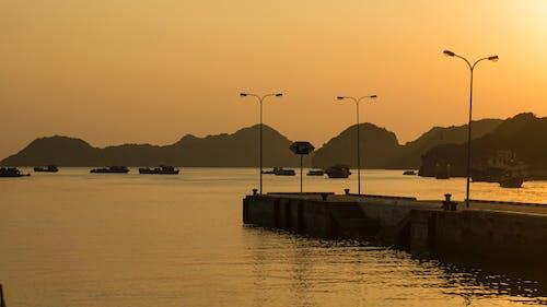 Gratis lagerfoto af catba, goldenhour, smuk solnedgang, vietnam
