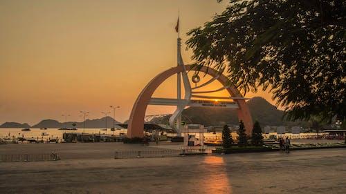 Gratis lagerfoto af catba, smuk solnedgang, smukt landskab, vietnam