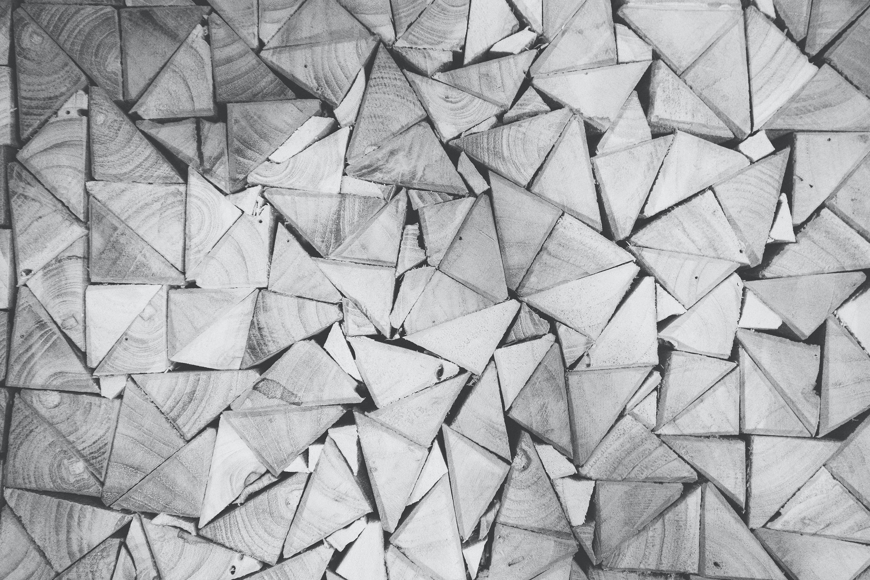 pattern, triangles