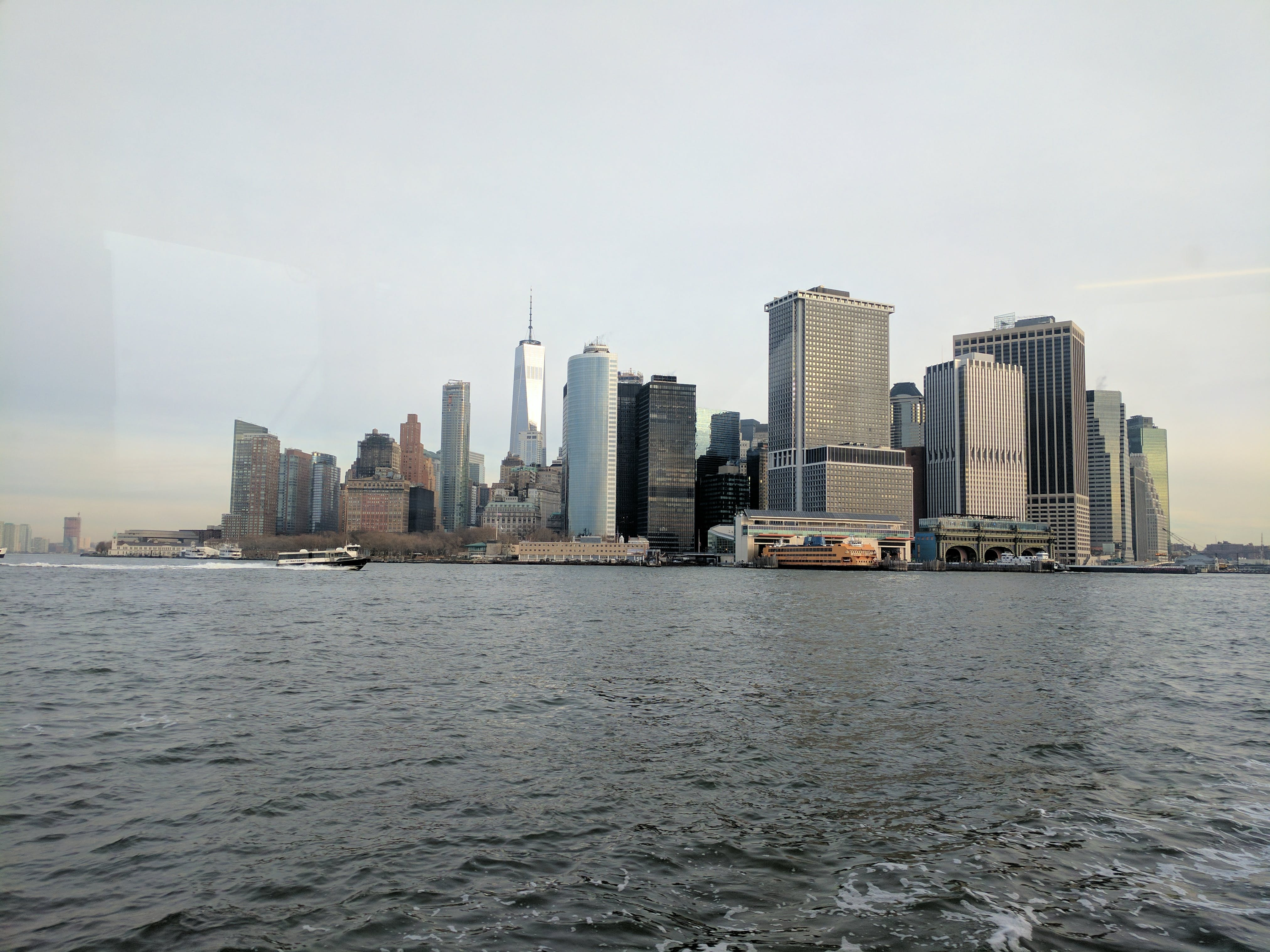 Free stock photo of buildings, financial district, hudson, manhattan