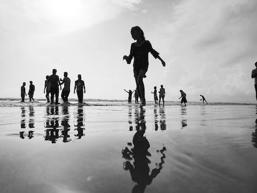 Free stock photo of beach, camera, goa, india