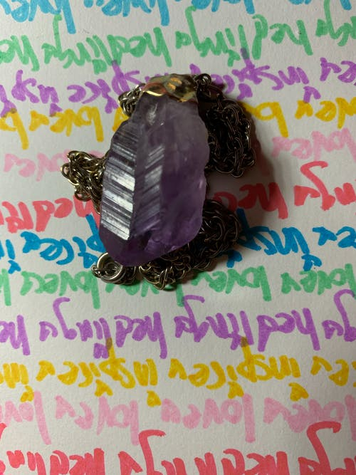 Free stock photo of amethyst, crystal, healing crystal, healing energy