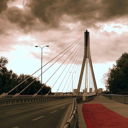 Foto d'estoc gratuïta de cel espectacular, dramàtic, pont, pont d'arc