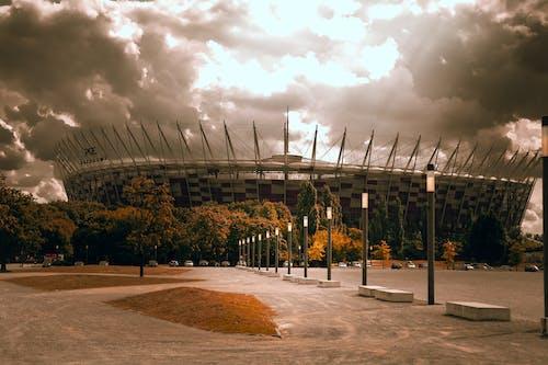 Бесплатное стоковое фото с варшава, живописное небо, облака, облачный пейзаж