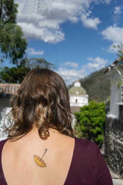 Foto d'estoc gratuïta de bronzejat, cabells arrissats, fotografia de paisatge, llatinoamericana