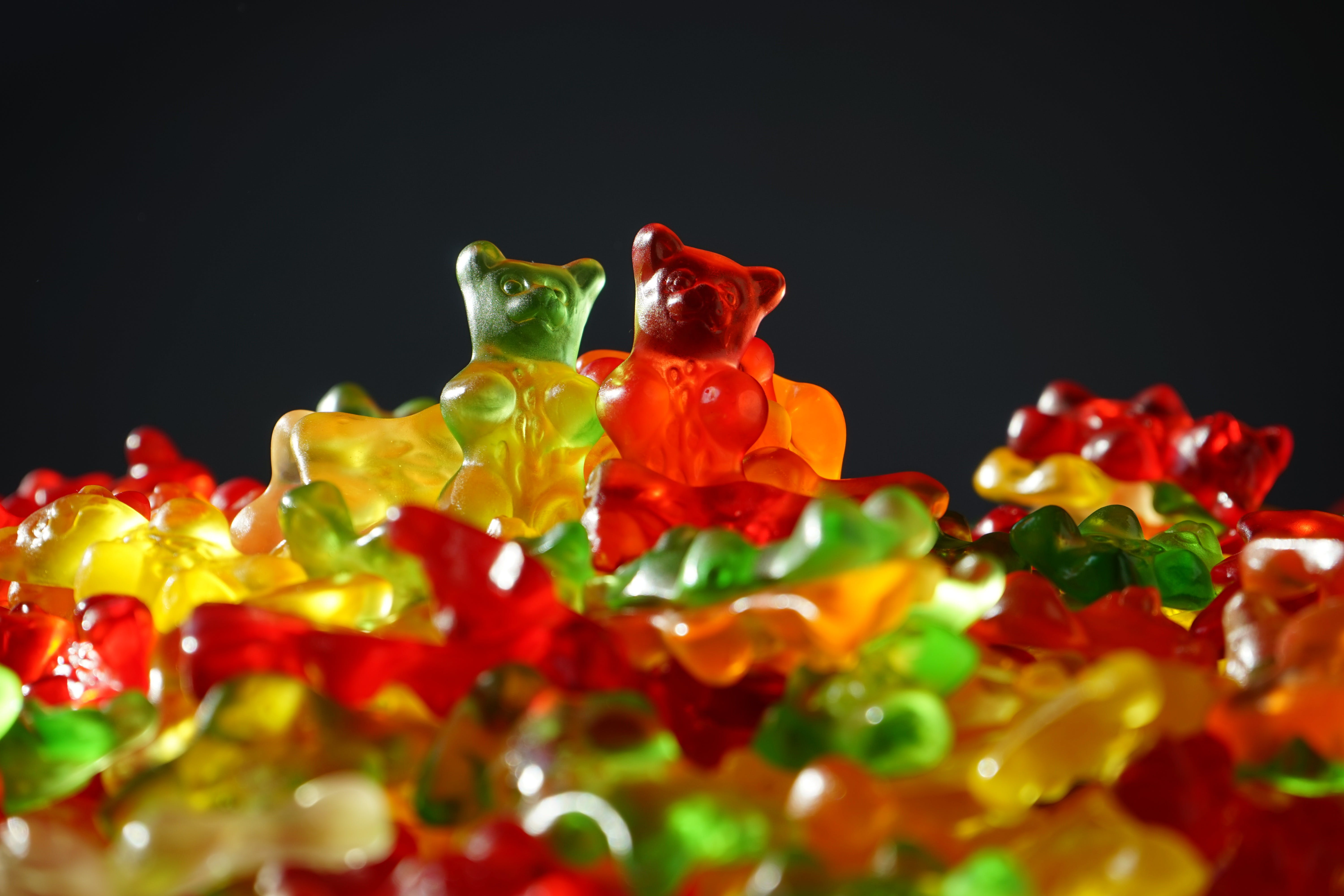 bears, bright, candies