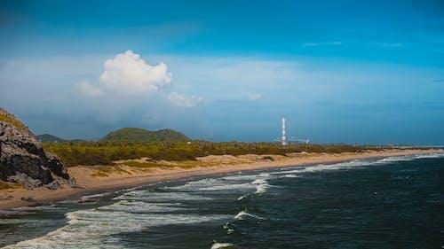 Gratis lagerfoto af Adobe Photoshop, blå hav, dronefotografering, dybhav