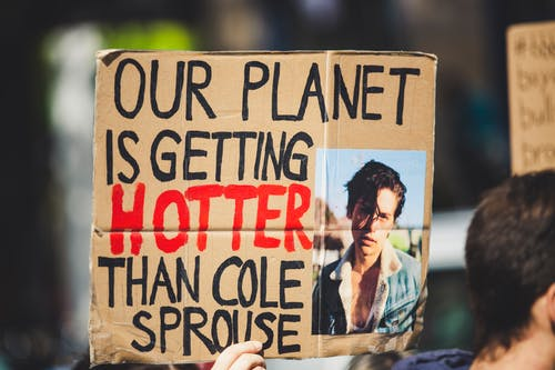 Free stock photo of activist, change, climate, climate activist
