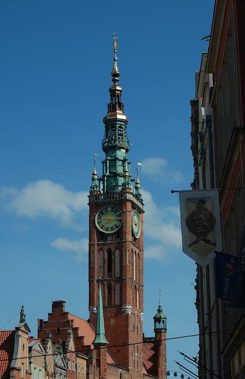 Free stock photo of blue sky, city, cityhall