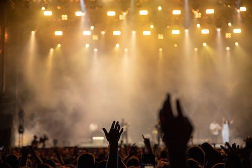 人, 人群, 光, 夜生活 的 免費圖庫相片