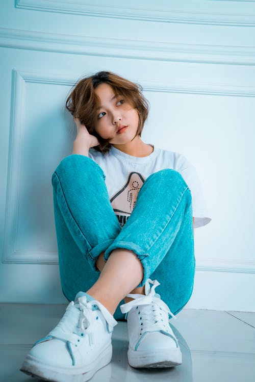 Ingyenes stockfotó álló kép, ázsiai nő, divat, fesztelen témában