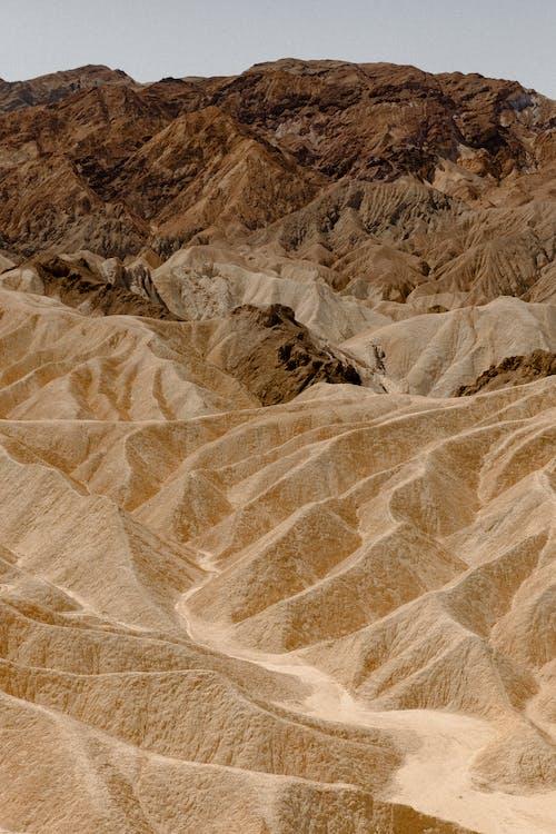 Photo of Sand Dunes Near Rocky Mountain