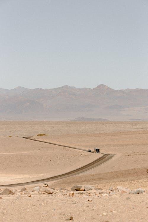 ドライ, 不毛, 乾燥, 交通手段の無料の写真素材