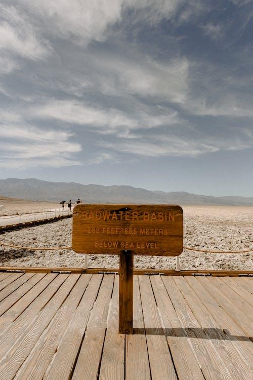 Badwater Basin Signage