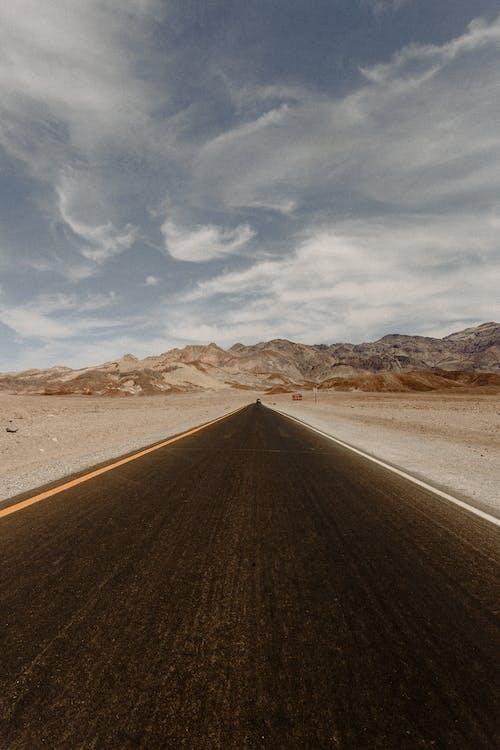 Imagine de stoc gratuită din asfalt, autostradă, cer, departe