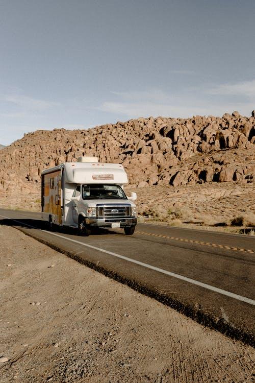 Luton Truck on Road