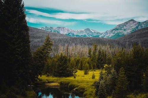 Ingyenes stockfotó 4k-háttérkép, Alpok, békés, ég témában
