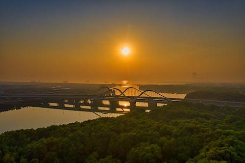 Gratis lagerfoto af arkitektur, bro, flod, forbindelse