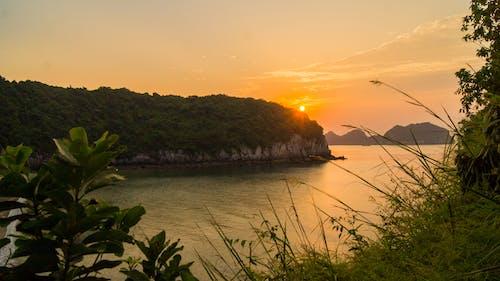 Gratis lagerfoto af smuk solnedgang, vietnam