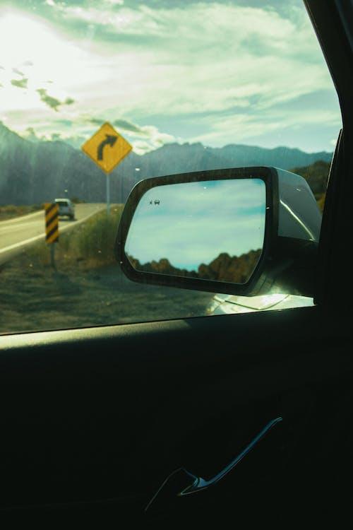 Ingyenes stockfotó járműablak, közlekedési rendszer, oldalsó visszapillantó tükör, szállítás témában