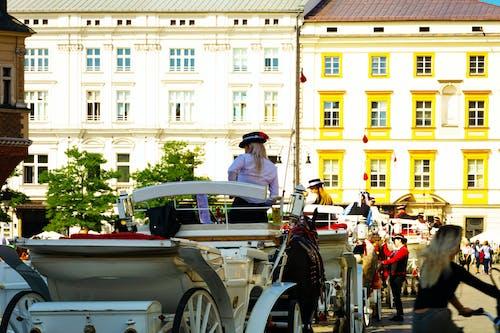 Бесплатное стоковое фото с krakow, бизнес-леди, всадник, достопримечательность