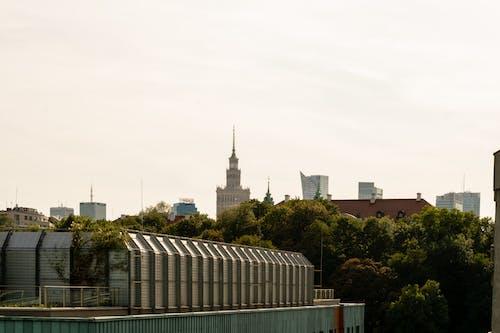 Бесплатное стоковое фото с варшава, вид на город, вид на природу, город