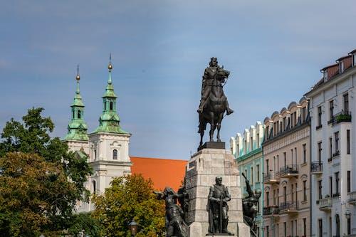 Бесплатное стоковое фото с krakow, достопримечательность, здание, здание церкви