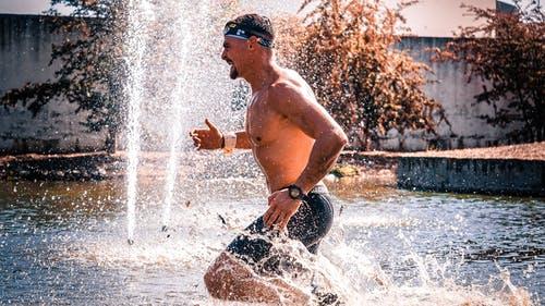 Man Running on Water