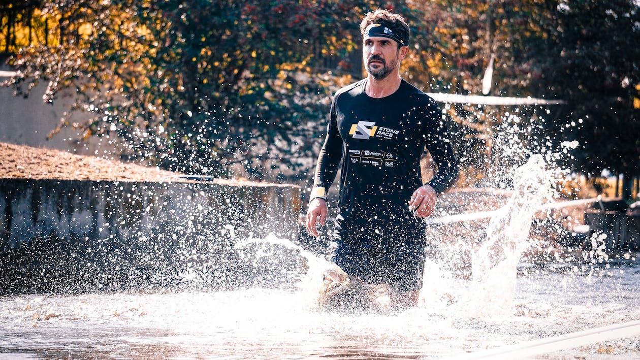Man Running on Water