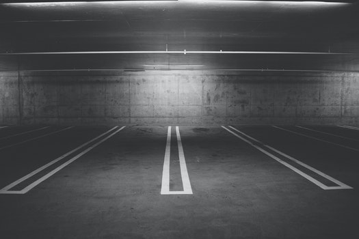 Free stock photo of parking, parking lot, underground garage