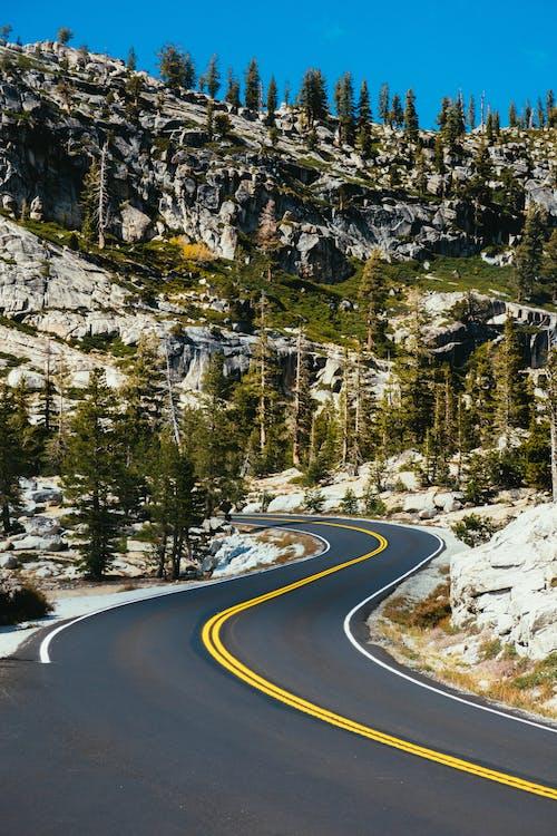 交通系統, 天性, 山, 山谷 的 免费素材照片