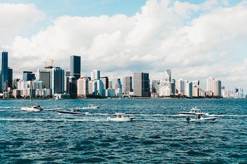 Ảnh lưu trữ miễn phí về bãi biển miami, biển, các tòa nhà, cảnh quan thành phố