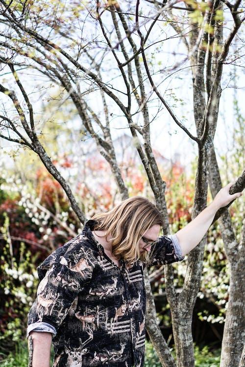 Foto d'estoc gratuïta de a l'aire lliure, arbre, cabell, cabells rossos