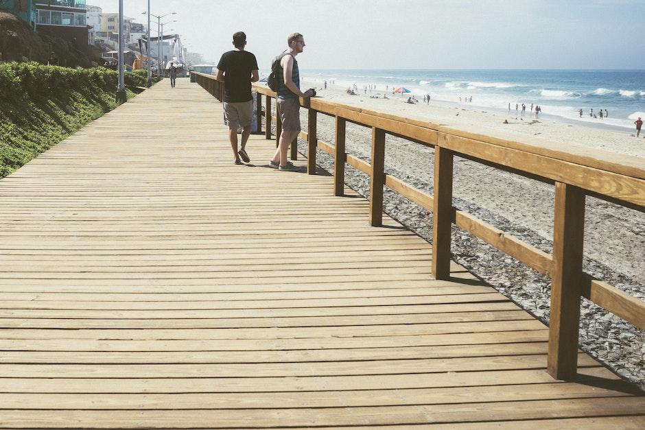 beach, holidays, people
