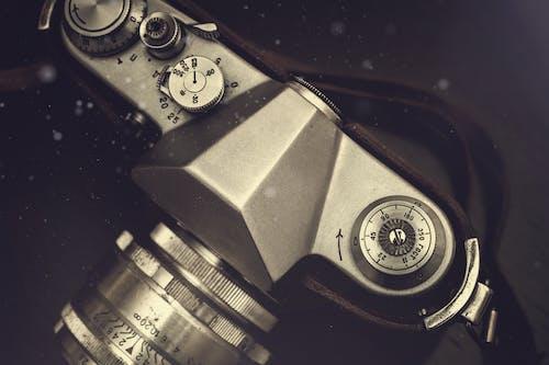 คลังภาพถ่ายฟรี ของ กรอบรูป, กระดาน, กรันจ์, กล้อง