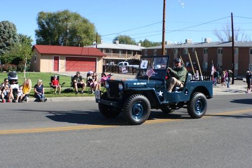 Imagine de stoc gratuită din aviație militară, Jeep, paradă