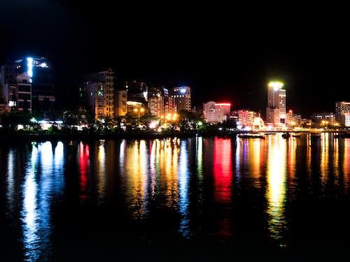 Fotos de stock gratuitas de ciudad, color, efectos solares, luces