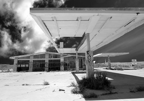 Photos gratuites de architecture, avant, bâtiment, bâtiment abandonné