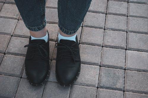 Ingyenes stockfotó Farmer, fekete cipők, lábak témában