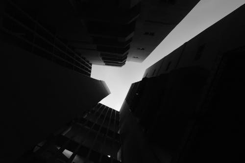 Základová fotografie zdarma na téma architektura, budova, černobílá, exteriér budovy