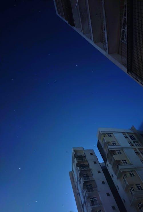 Základová fotografie zdarma na téma noční obloha