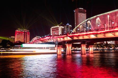 Immagine gratuita di acqua, Bay Bridge, cina