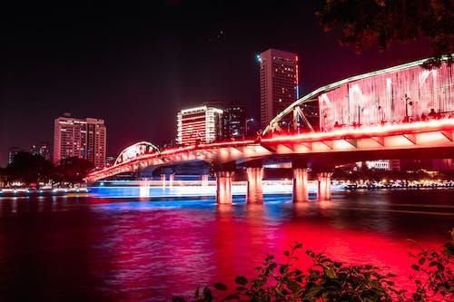 Immagine gratuita di architettura, Bay Bridge, cina