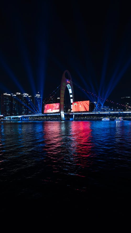 Immagine gratuita di acqua, bandiera, Bay Bridge