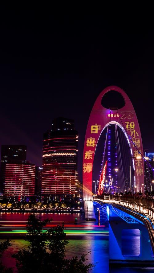 Immagine gratuita di barca, Bay Bridge, canon