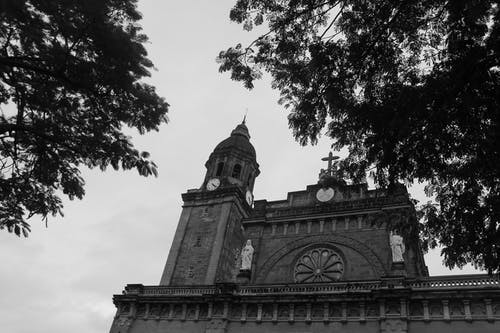 Free stock photo of cathedral, church, intramuros, manila